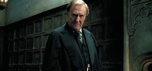 Robert Hardy, Harry Potter's Cornelius Fudge,