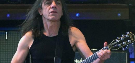 Малькольм Янг Австралийский гитарист