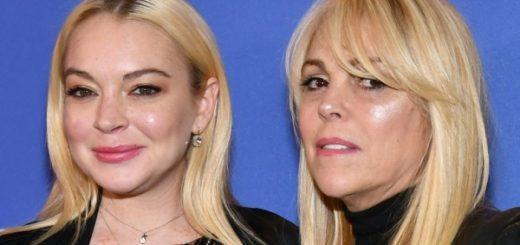 Линдси Лохан и её мать