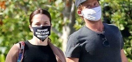 Знаменитости в масках