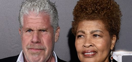 Рон Перлман с бывшей женой