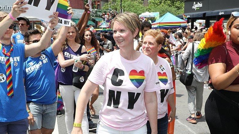Любовь Синтии Никсон к Нью - Йорку не знает границ
